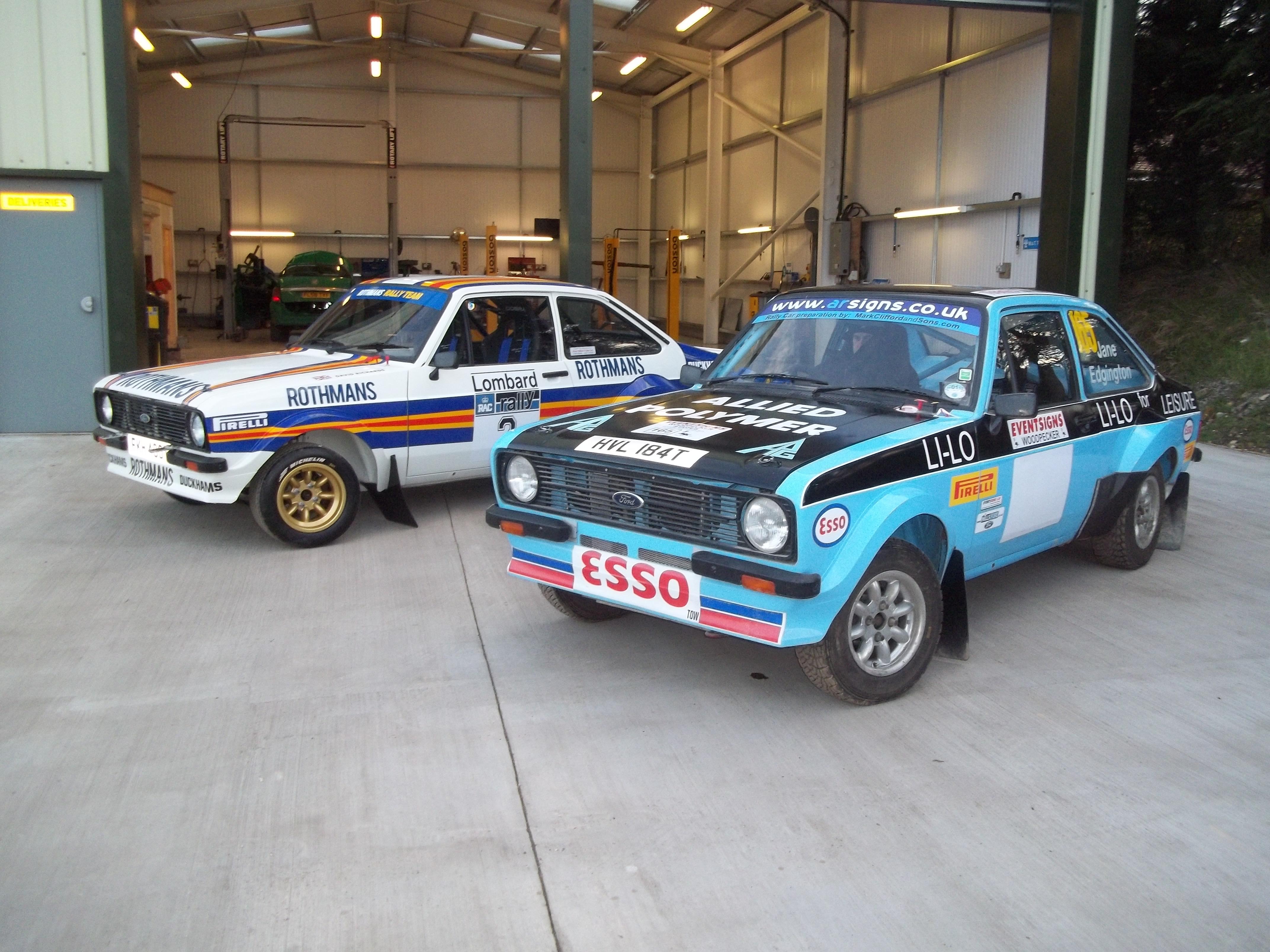 Classic Car Restoration & Historic Rally Preparation – Mark Clifford ...